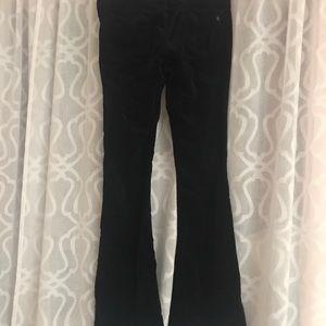 Corduroy navy jeans